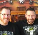 Richard Fergola and Jeremy Williams Fergolicous BBQ