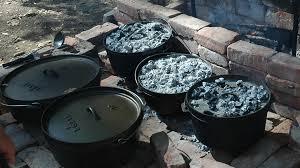 Dutch Oven Cooking - Lodge Cast Iron Dutch Ovens