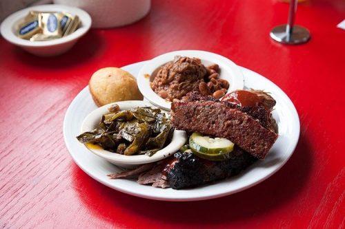 A meat sampler at Bonnie Blue in Winchester, Va. -Credit Brian Nichols
