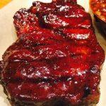 A Fine Swine BBQ Restaurant - 1.5 Pound Pork Steak with Championship Glaze