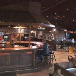 A Fine Swine BBQ Restaurant - Interior View of Bar